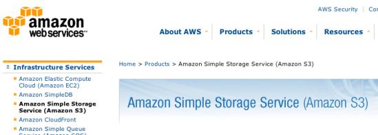 Amazon S3 Service